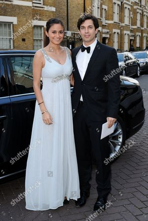 Adam Garcia and Nathalia Chubin