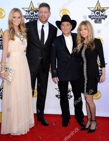 Troy Aikman, Clint Black and wife Lisa Hartman Black