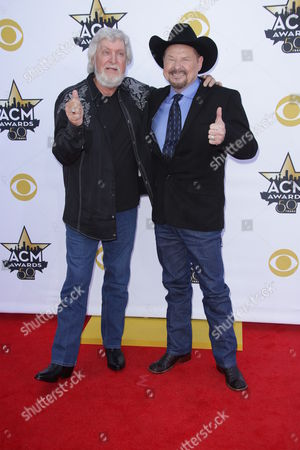Stock Photo of Moe Bandy & Joe Stampley