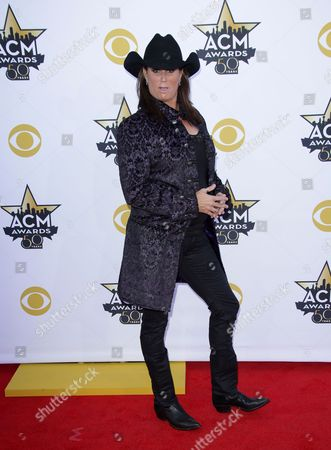 Editorial photo of 50th Academy of Country Music Awards, Arrivals, Arlington, America - 19 Apr 2015
