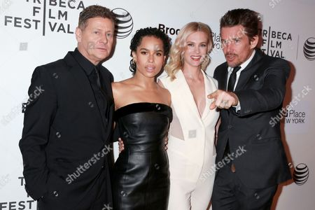 Andrew Niccol, Zoe Kravitz, January Jones, Ethan Hawke