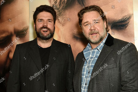Stock Photo of Keith Rodger and Russell Crowe
