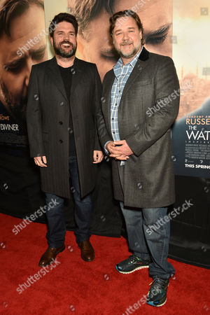 Keith Rodger and Russell Crowe
