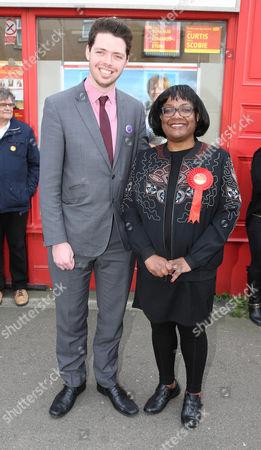Will Scobie and Diane Abbott