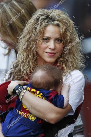 Editorial picture of Barcelona v Valencia, La Liga Football match, Camp Nou Stadium, Barcelona, Spain - 18 Apr 2015