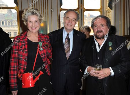 Daniele Gilbert, Frederic Mitterrand, Richard  Anthony