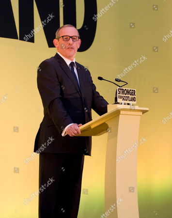 Deputey Leader of the SNP Stewart Hosie at the launch of the Scottish National Party General Election Manifesto