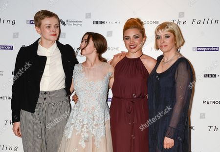 Maxine Peake, Maisie Williams, Florence Pugh and Carol Morley