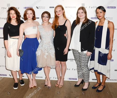 Editorial picture of 'The Falling' gala film screening, Ham Yard Hotel, London, Britain - 20 Apr 2015