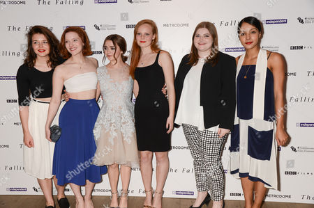 Stock Picture of Katie Ann Knight, Morfydd Clark, Maisie Williams, Anna Burnett, Evie Hooton and Rose Caton