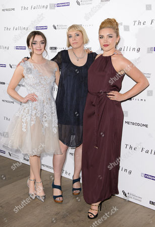 Maisie Williams, Carol Morley and Florence Pugh