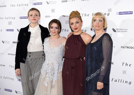 Maxine Peake, Maisie Williams, Carol Morley and Florence Pugh