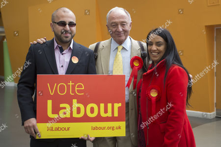 Former London Mayor and MP Ken Livingstone visits Bradford to support Labour candidate Naz Shah in the Bradford West constituency