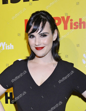 Editorial photo of 'HAPPYish' TV series premiere, New York, America - 20 Apr 2015