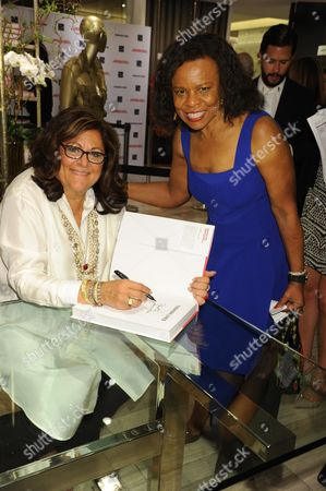 Editorial photo of Fern Mallis Book Launch at Saks Fifth Avenue, New York, America - 20 Apr 2015