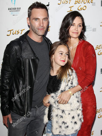 Courteney Cox, Johnny McDaid, Coco Riley Arquette