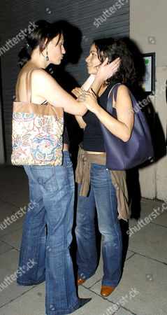 Suranne Jones and Sasha Behar