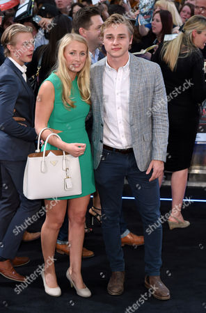 Stock Image of Katriona Perrett and Ben Hardy