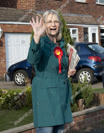 Stock Image of Labour candidate for Swindon South Anne Snelgrove