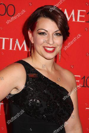 Stock Photo of Anita Sarkeesian