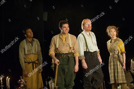 'Light Shining in Buckinghamshire' - cast