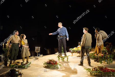Editorial photo of 'Light Shining in Buckinghamshire' play by Caryl Churchill performed in the Lytteleton Theatre at the Royal National Theatre, London, Britain - 22 Apr 2015