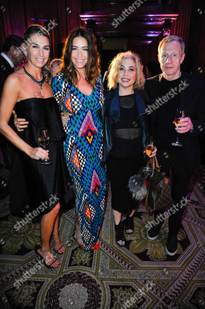 Assia Webster, Lisa Snowdon, Brix Smith and Philip Start