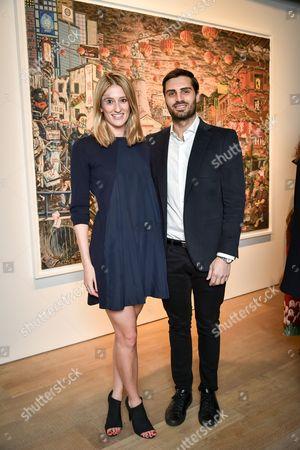 Stock Image of Francesca Zampi and Trent Ward