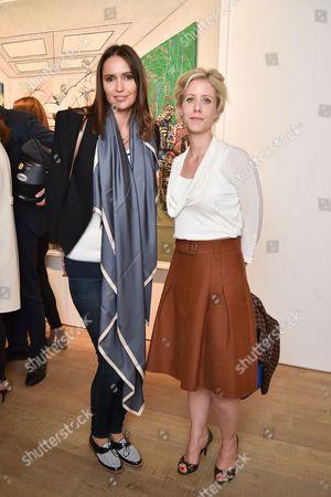 Sasha Volkova and Elizabeth Esteve