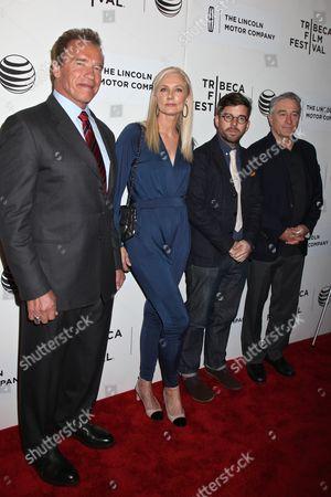 Arnold Schwarzenegger, Joely Richardson, Henry Hobson, Robert De Niro