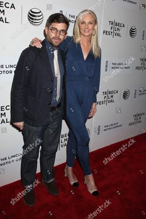 Joely Richardson and Henry Hobson