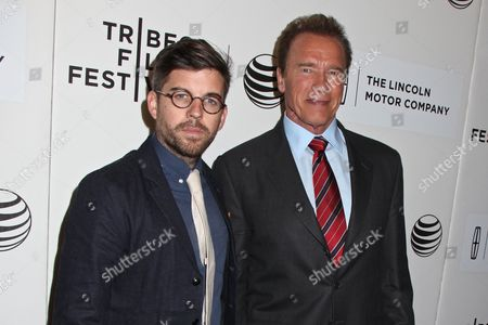 Henry Hobson, director and Arnold Schwarzenegger