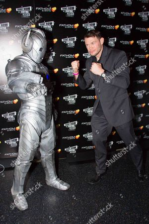 Stock Photo of The Cyberman, Forrest Griffin