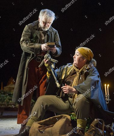 Stock Image of Allan Williams as Man, Ashley McGuire as Margaret Brotherton