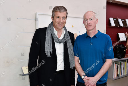 Managing Director Tom Meggle and Blaise Drummond