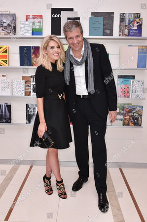 Mollie King and Managing Director Tom Meggle