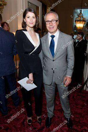 Gemma Arterton and Jon Zammett