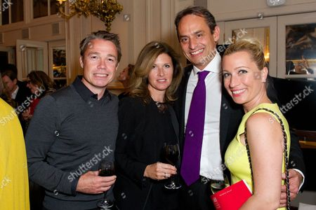 Graeme Le Saux, Andre Konsbruck and Christine Sieg and guest