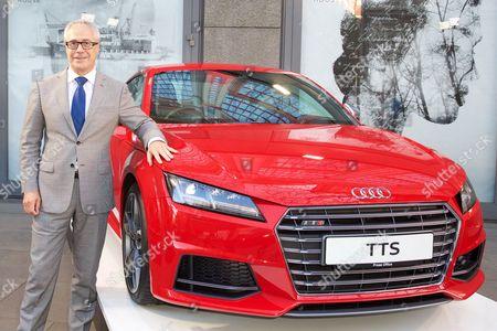 Jon Zammett (Head of PR for Audi UK)
