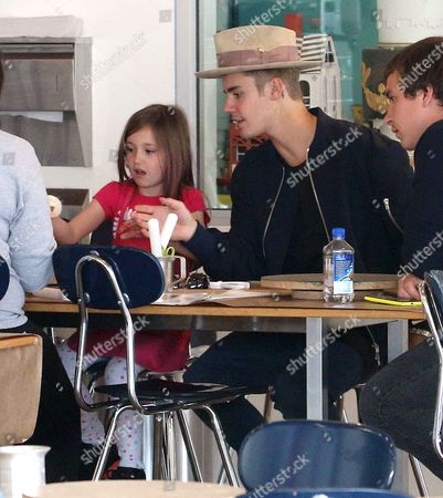 Justin Bieber and sister Jazmyn Bieber