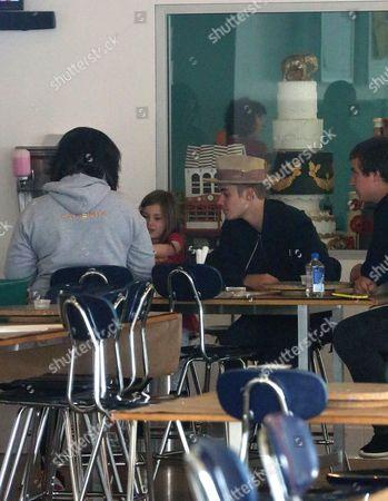 Justin Bieber and Jazmyn Bieber