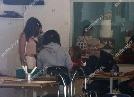 Justin Bieber, Jazmyn Bieber, Kendall Jenner and Hailey Baldwin