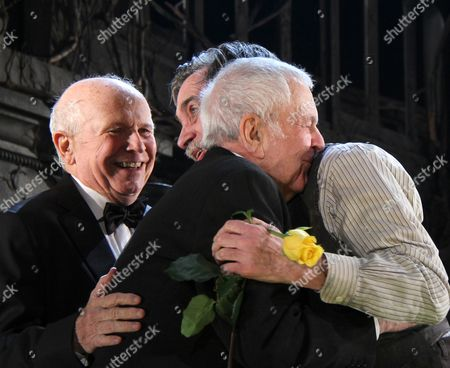 Stock Image of Terrence McNally, John Kander, Roger Rees