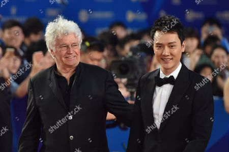 Jean-Jacques Annaud and Feng Shaofeng