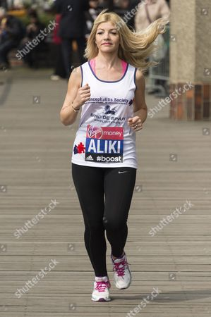 Editorial picture of Virgin London Marathon photocall and press conference, Britain - 24 Apr 2015