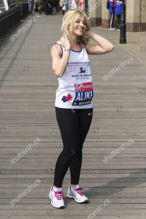Editorial photo of Virgin London Marathon photocall and press conference, Britain - 24 Apr 2015