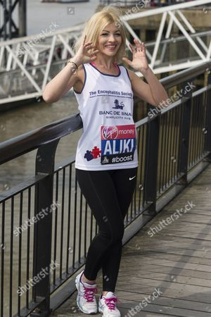 Editorial image of Virgin London Marathon photocall and press conference, Britain - 24 Apr 2015