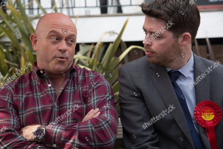 Ross Kemp and Will Scobie