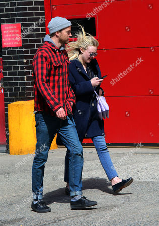Editorial photo of Dakota Fanning and Jamie Strachan out and about, New York, America - 24 Apr 2015