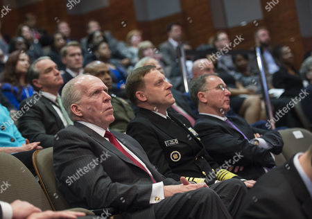 CIA Director John O. Brennan and Director of the National Security Agency Mike Rogers